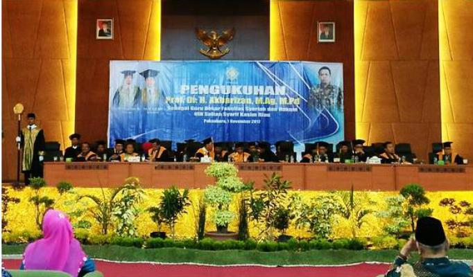 riaugreen_Walikota-Pekanbaru-Turut-Hadiri-Pengukuhan-Guru-Besar-UIN-Suska-Riau